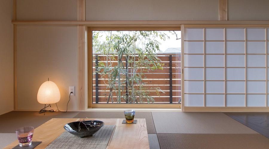 設計のこだわり、畳の部屋画像