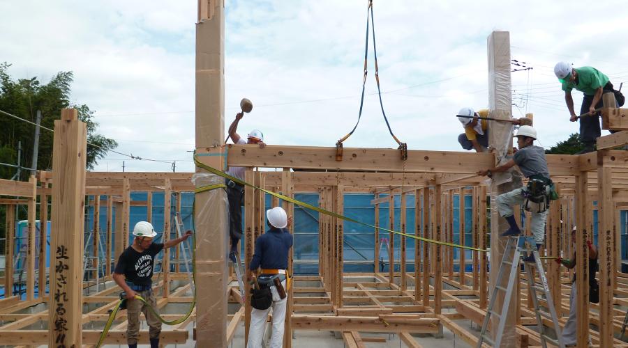 木造軸組筋かい構造