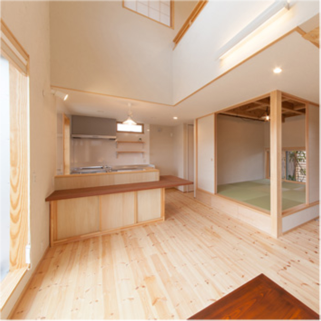 本物の木造住宅