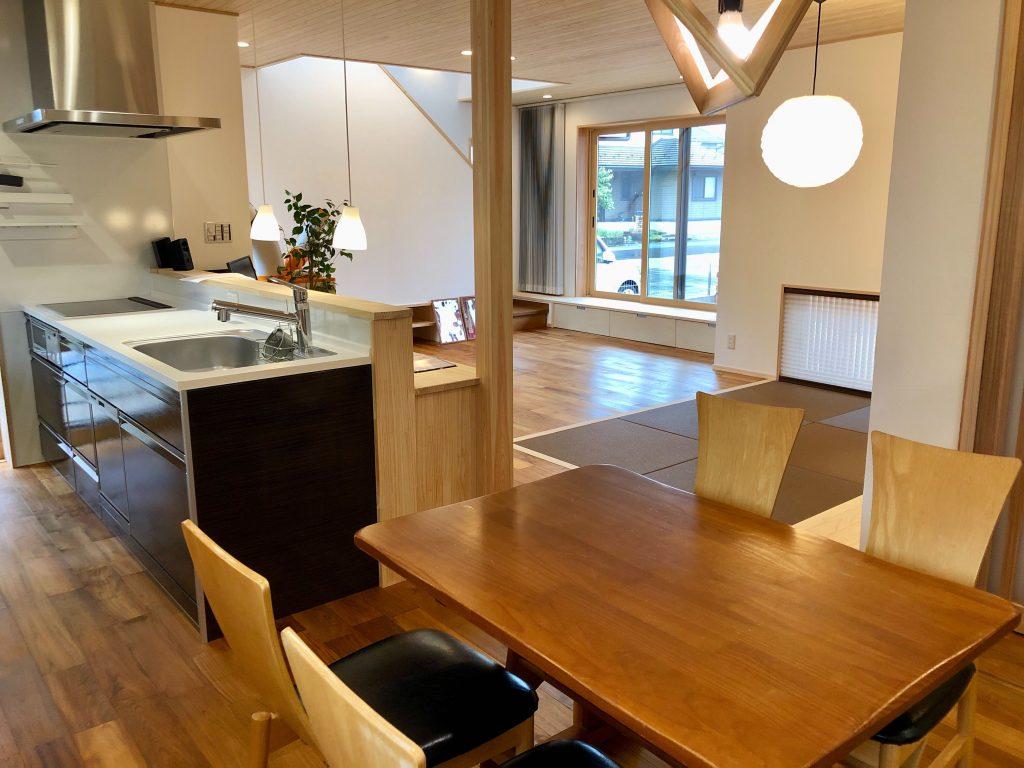 福知山市の自然素材の新築の家