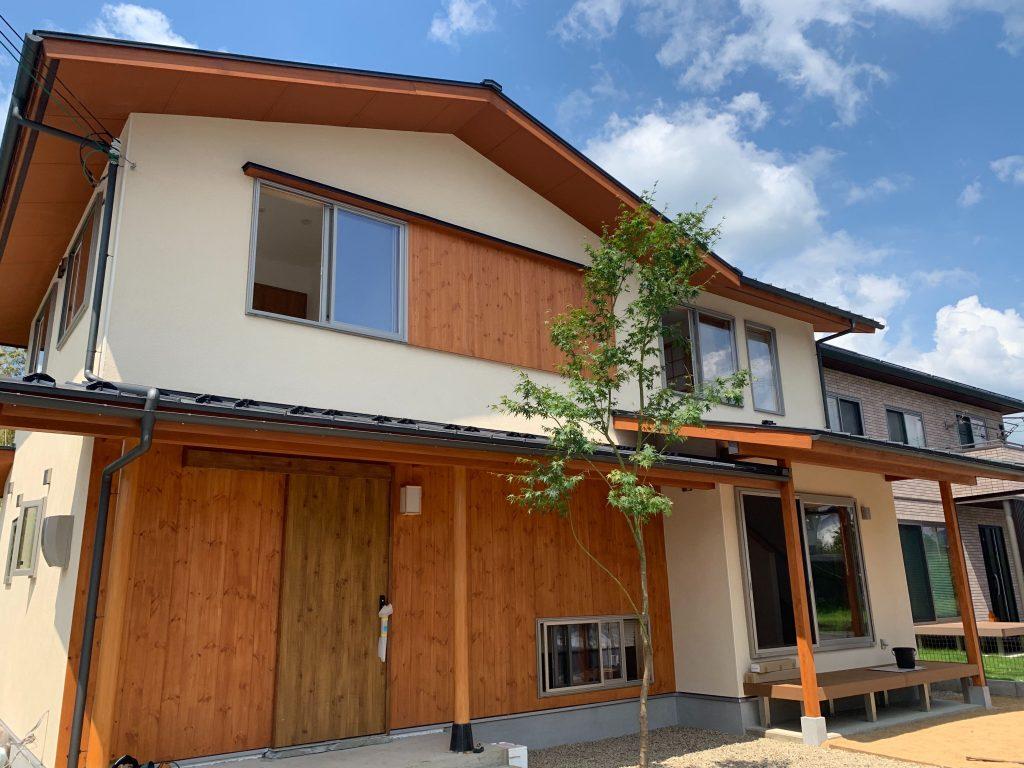 福知山市の新築注文住宅 和風モダンな家