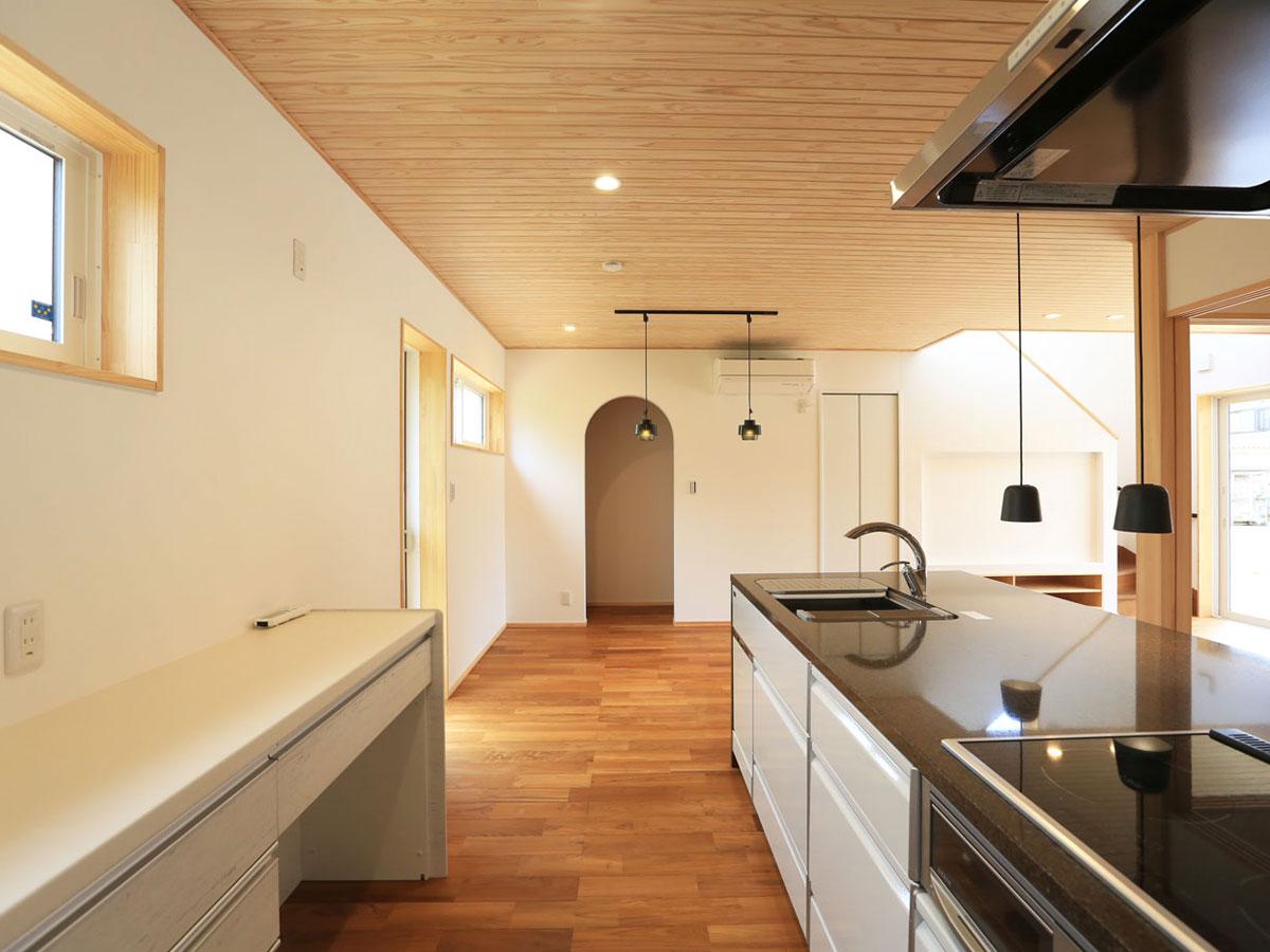 福知山市の新築住宅 自然素材の家