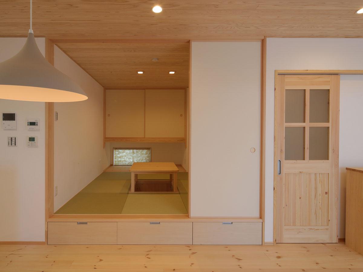 和室には掘りごたつを ちょっと特別な空間