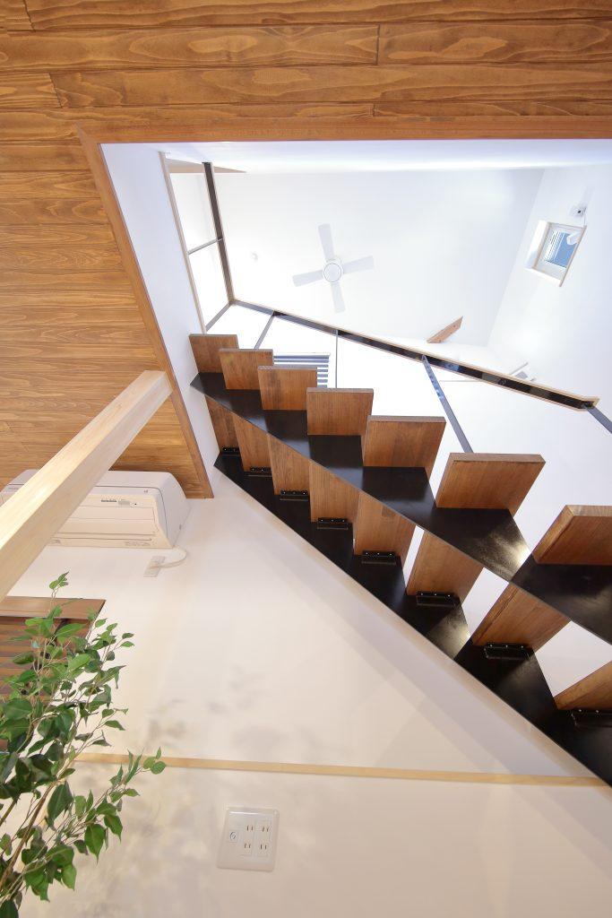 オープン階段、福知山